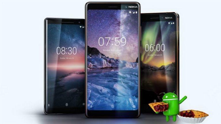 Nokia 3, Nokia 5 ve Nokia 6 için Android Pie geliyor!