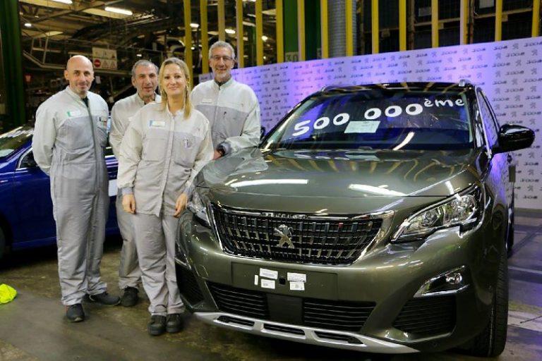 500 bininci Peugeot 3008 üretim hattından çıktı!