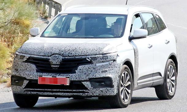Yenilenen Renault Koleos (2019) casus kameralara böyle yakalandı!