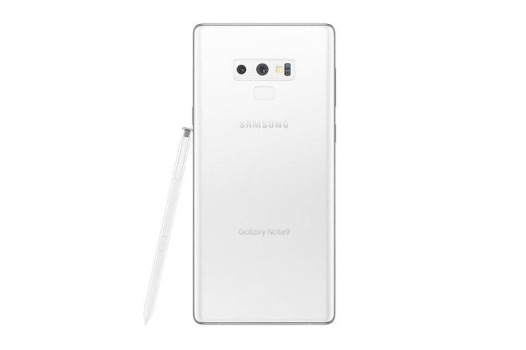 Beyaz Galaxy Note 9 geliyor!