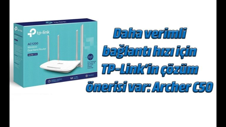 TP-Link Archer C50 AC1200 Wireless Dual Band Router inceleme