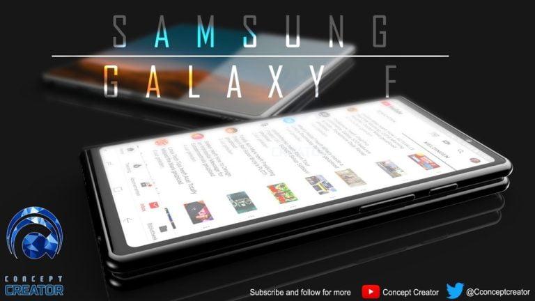 Galaxy F için iştah kabartan konsept videosu!