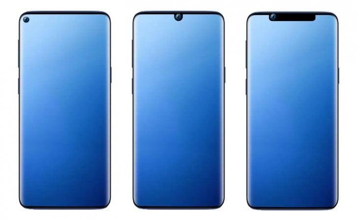 Samsung Galaxy A8s'in paneli yine ortaya çıktı