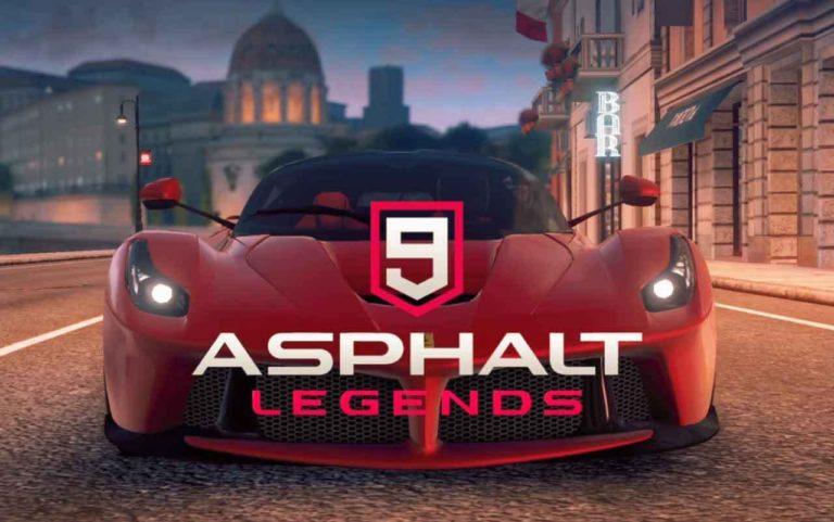 Asphalt 9 Legends 60 FPS desteğine kavuştu