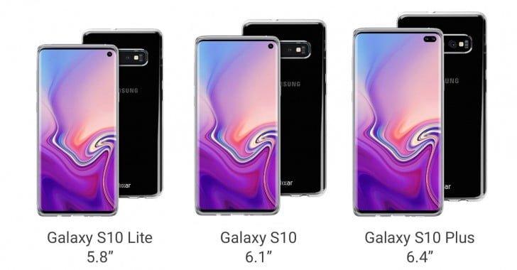 Samsung Galaxy S10 ailesi kendini gösterdi