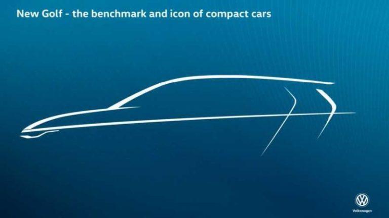 Volkswagen Golf 8 için teaser yayınlandı!