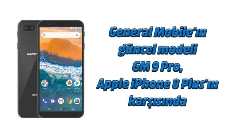 General Mobile GM 9 Pro ve iPhone 8 Plus fotoğraf karşılaştırması