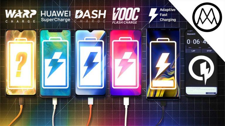 Huawei Mate 20 Pro, OnePlus 6T McLaren Edition, OnePlus 6T, Oppo Find X ve Galaxy Note 9 hızlı şarj testinde!