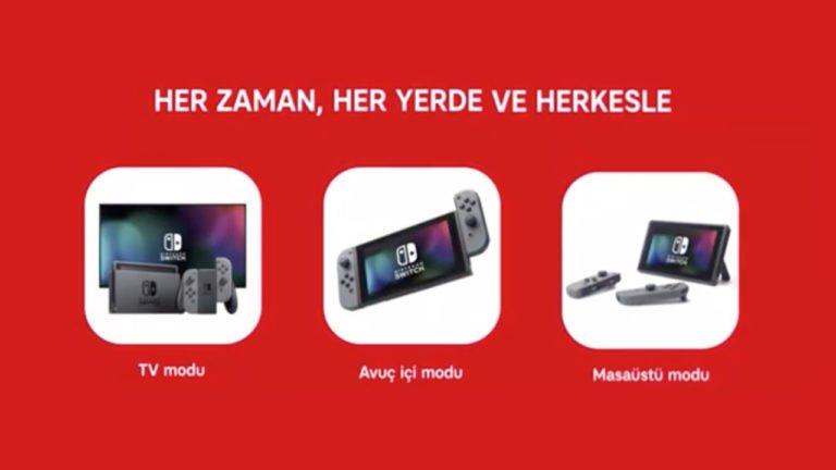 Nintendo Switch reklamı Türk TV kanallarında!