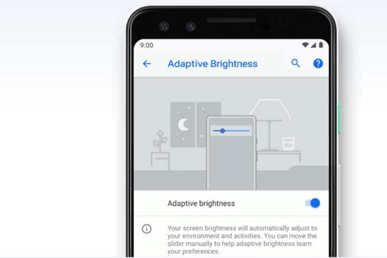 Android Pie sürümünde uyarlanabilir parlaklığı sıfırlamak kolaylaştı!