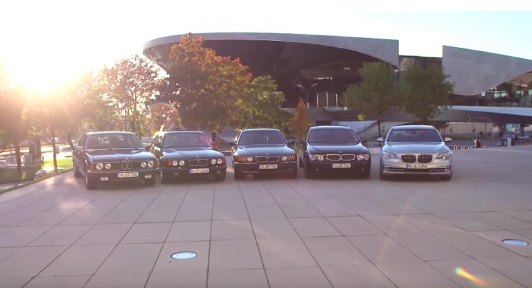 Geçmişten günümüze BMW 7 serisi