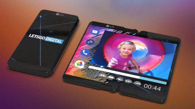 LG katlanabilir telefon için patent aldı!