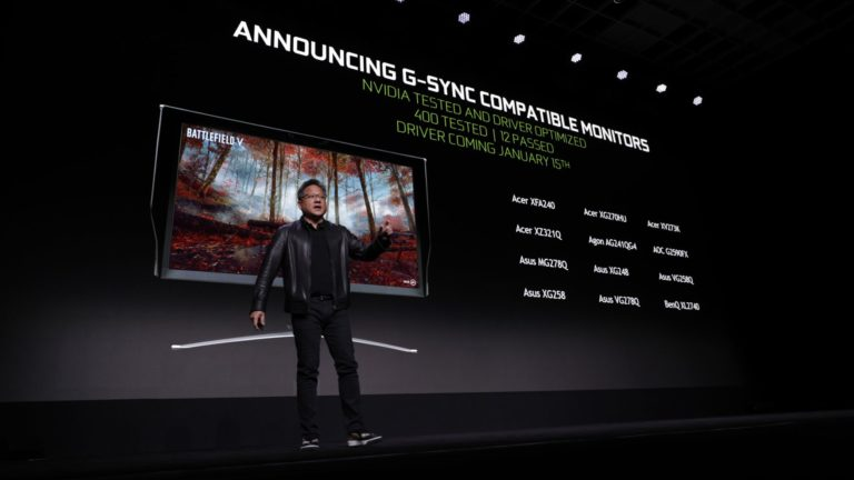 Nvidia FreeSync monitörlere G-Sync desteği sağlayacak!