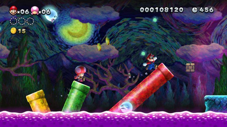 New Super Mario Bros. U Deluxe hızlı başladı!