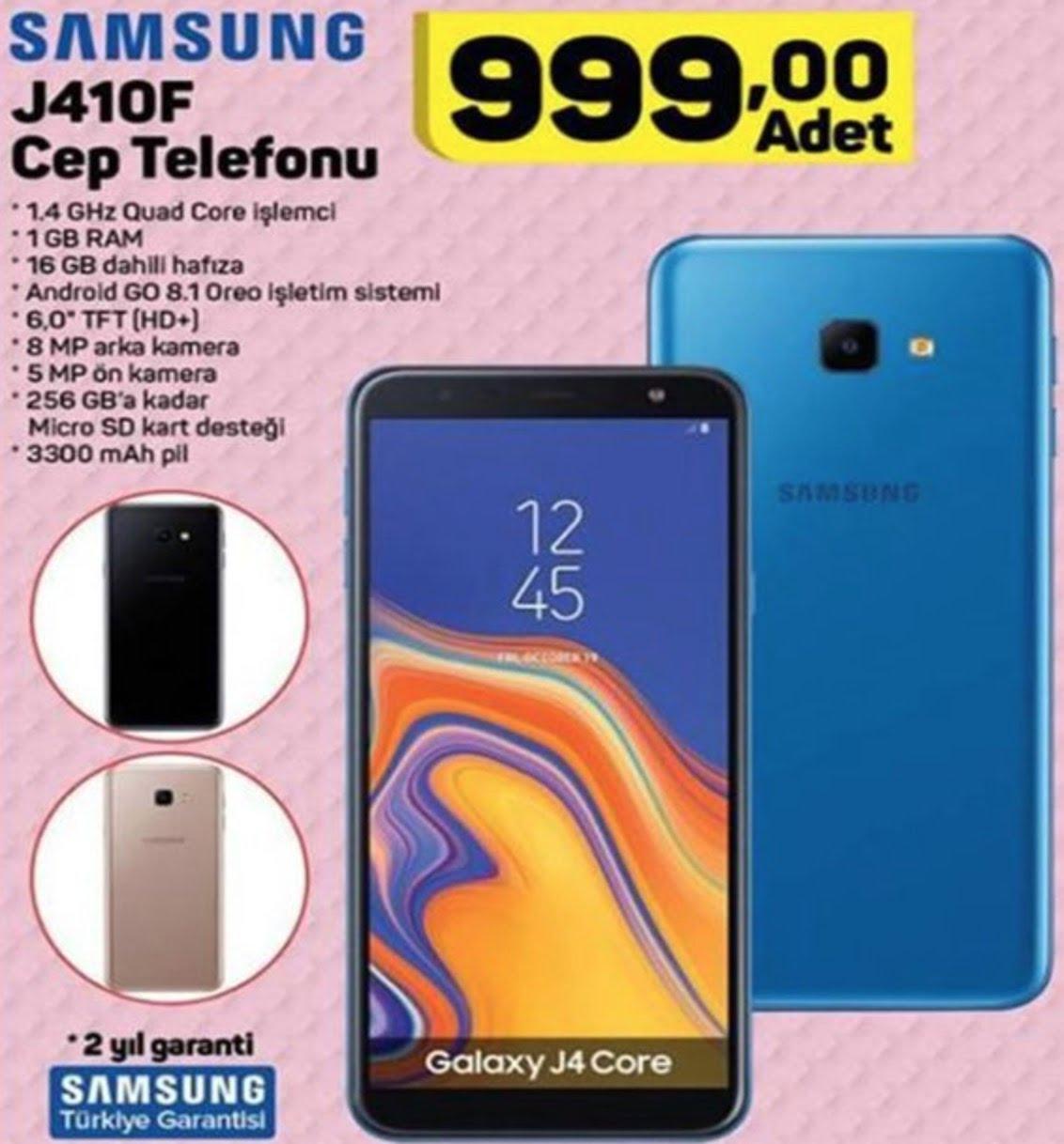 A101 Samsung Galaxy J4 Core