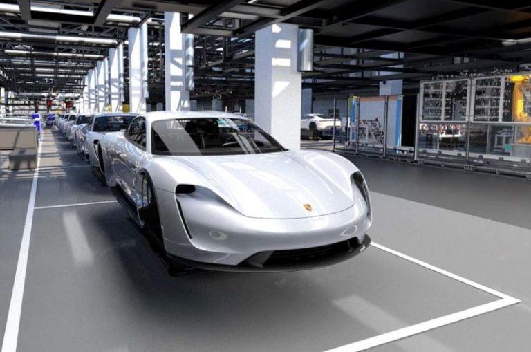 Porsche Taycan üretime hazır!