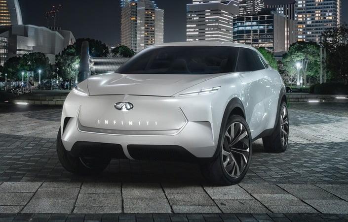 Tesla Model X'e bir rakip de Asya'dan çıktı! İşte karşınızda Infiniti QX Inspiration!
