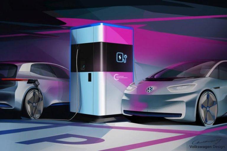 Volkswagen mobil EV şarj istasyonunu gözler önüne çıkardı!