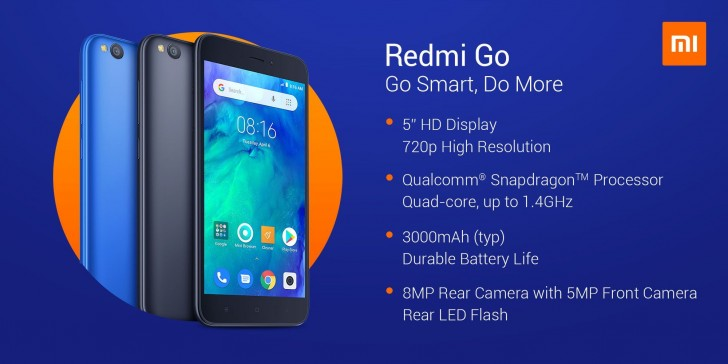 """Sudan ucuz"" Xiaomi Redmi Go tanıtıldı"