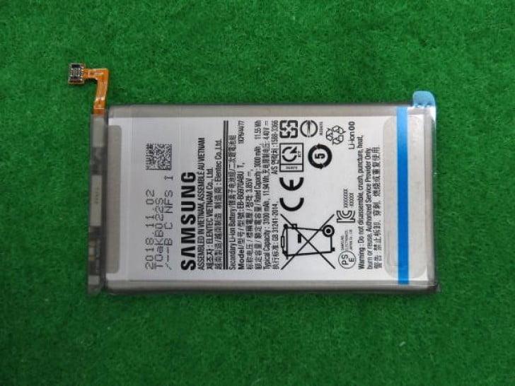 Galaxy S10 Lite batarya kapasitesi belli oldu
