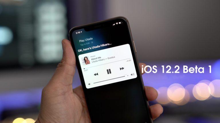 iOS 12.2 Public Beta yayınlandı!