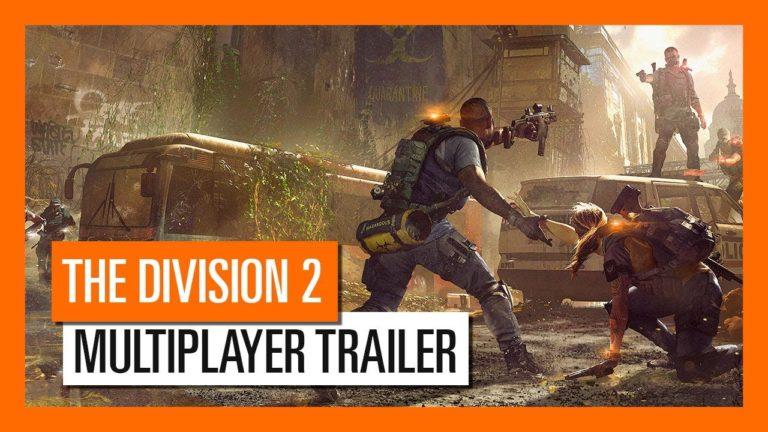The Division 2 multiplayer videosu yayınlandı