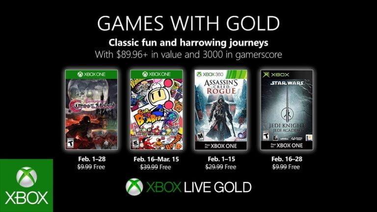 Xbox Live Gold Şubat oyunları belli oldu