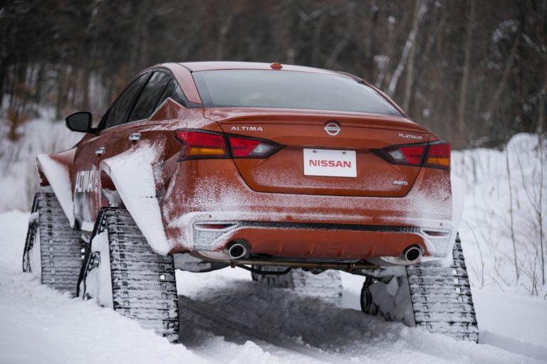 Nissan Altima'yı hiç böyle görmediniz!