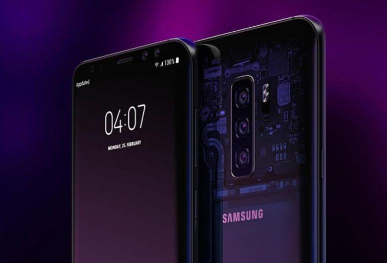Üç Galaxy S10 modeli aynı karede!