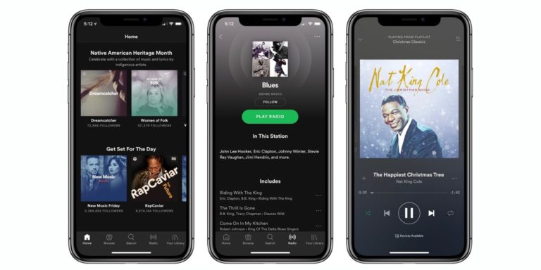 Spotify iPhone Xs Max ve Apple Watch Series 4 için güncellendi!
