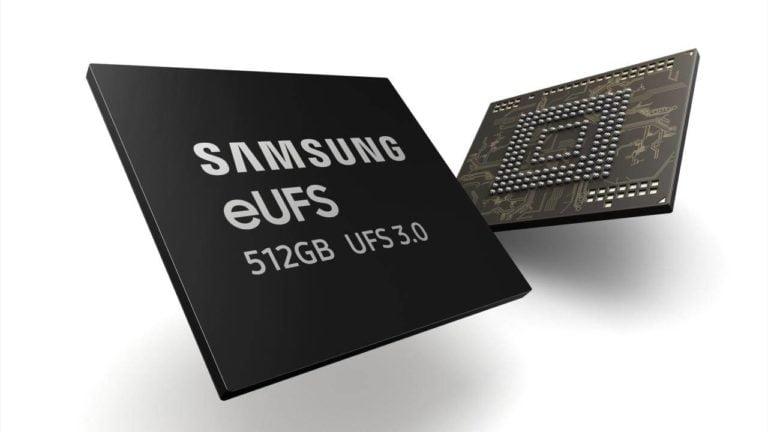 Samsung dünyanın en hızlı 512 GB depolama biriminin üretimine başlıyor