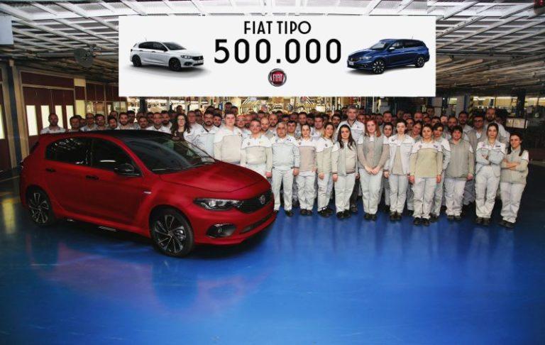 500.000'inci Fiat Tipo Bursa'daki üretim hattından çıktı!
