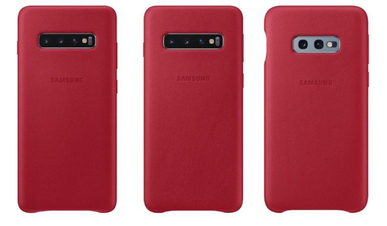 Samsung imzalı Galaxy S10 kılıfları ortaya çıktı!