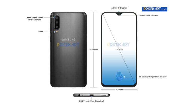 Samsung Galaxy A50 sızdı!