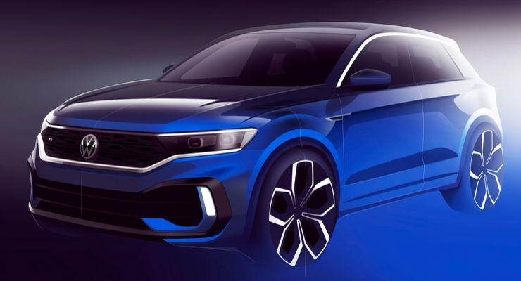 310 beygirlik Volkswagen T-Roc R için ilk teaser geldi!