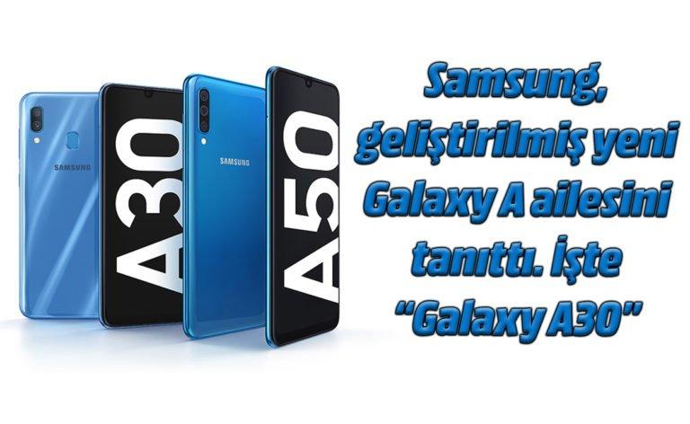 Samsung Galaxy A30 ön inceleme – MWC 2019