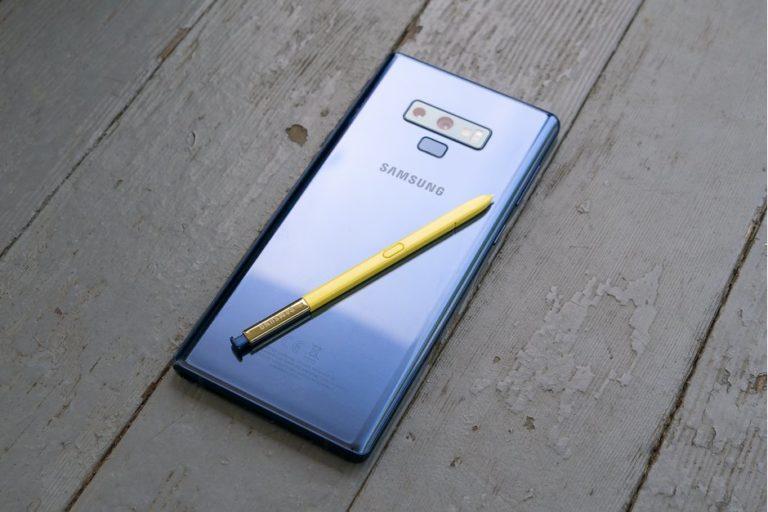 Galaxy Note 10 S Pen'i kamera ile gelebilir