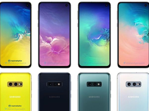 Galaxy S10e ismi kesinleşti