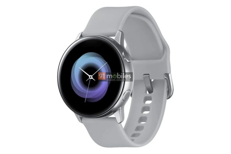 Samsung'un yeni saati Galaxy Sport ortaya çıktı