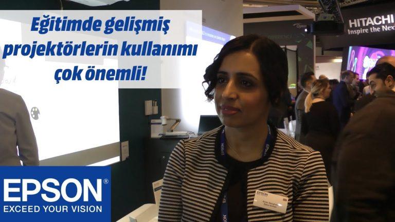 EPSON ve eğitim sektörünün vazgeçilmezi projektörler