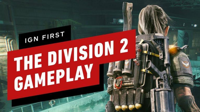 The Division 2 için yeni oynanış videosu