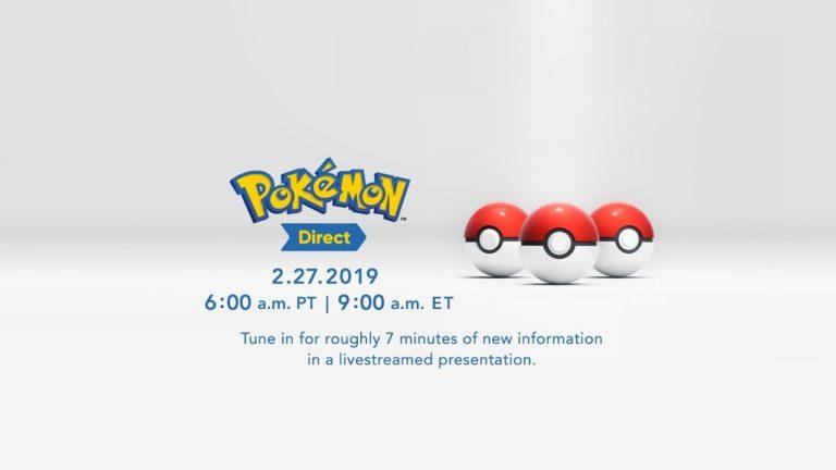 8. Nesil Pokemon oyunları bugün tanıtılacak!