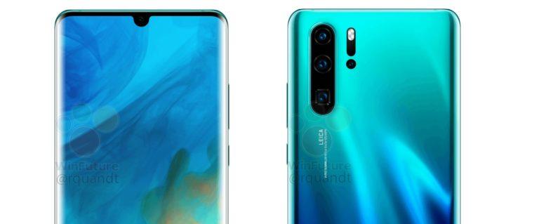 Huawei P30 ve P30 Pro'nun basın görselleri sızdırıldı