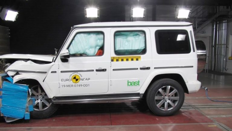 Mercedes-Benz G-Class, Honda CR-V ve SEAT Tarraco Euro NCAP'ten beş yıldız aldı!