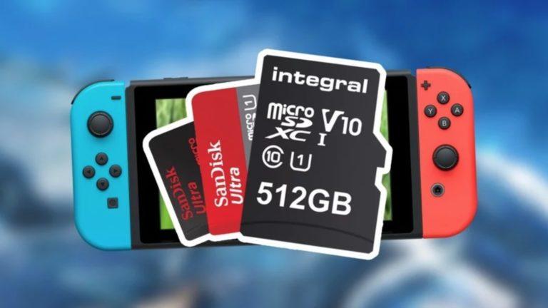 Nintendo Switch için microSD kart seçimi çok önemli!