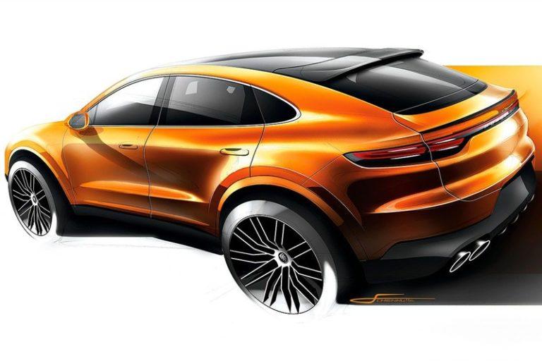 Porsche Cayenne Coupe'nin gelişi bir eskizle duyuruldu!