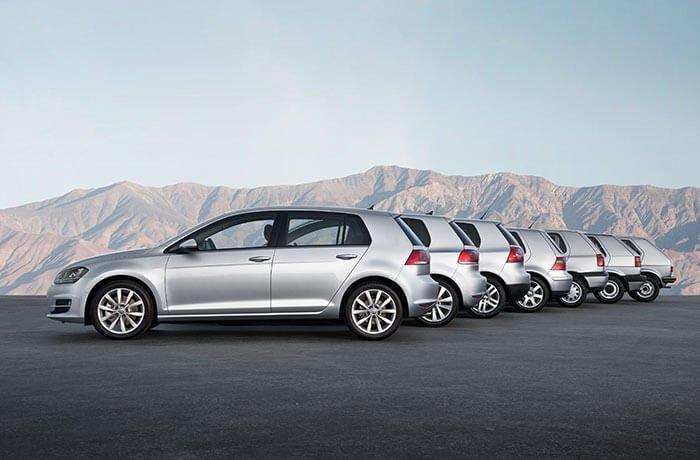 Geçmişten günümüze Volkswagen Golf! (1974-2019)