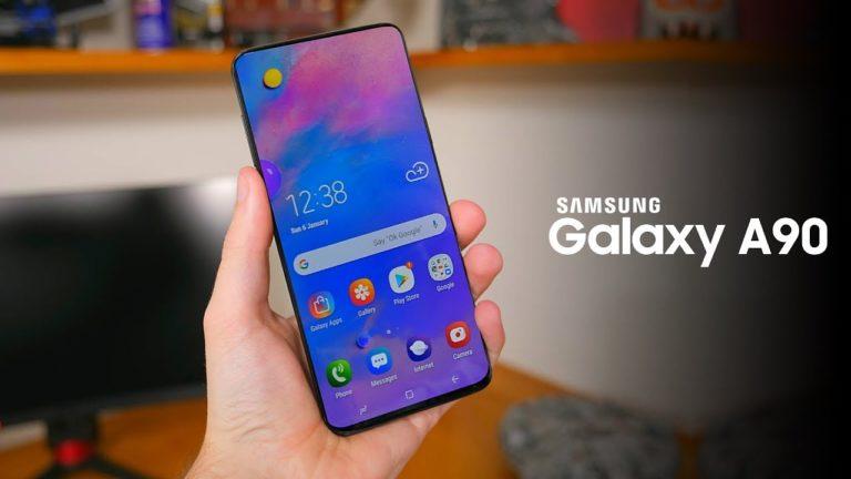 Galaxy A90 ekranı Samsung tarafından doğrulandı