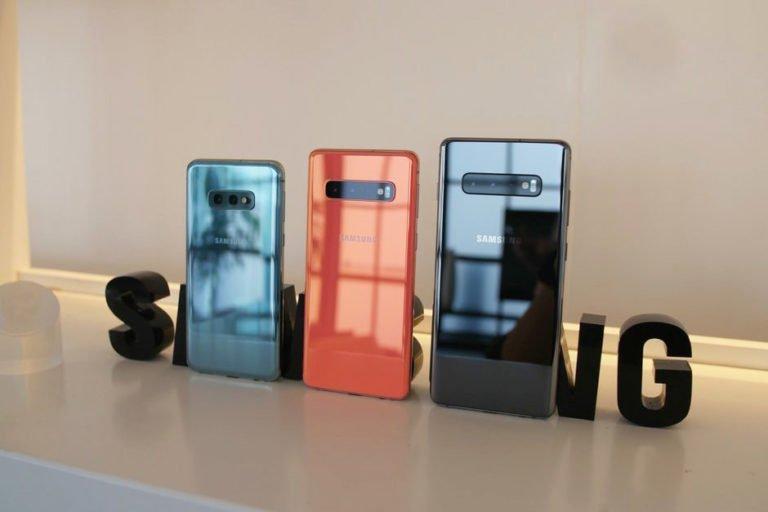Galaxy S10, S10E ve S10+ batarya karşılaştırması