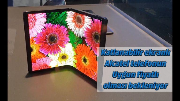 Katlanabilir ekranlı Alcatel ve mini telefon Palm, Türkiye yolunda